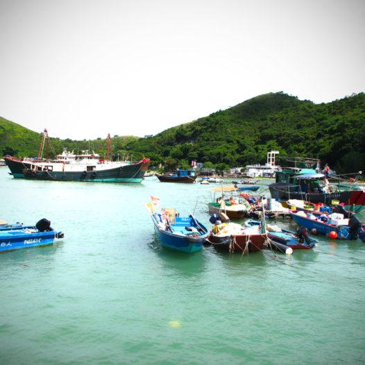 Im Fischerdorf Tai O - nicht unbedingt ein Highlight.
